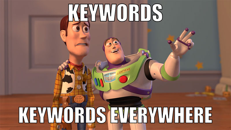 find profitable keywords with low competition